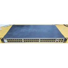 Управляемый коммутатор D-link DES-1210-52 48 port 10/100Mbit + 4 port 1Gbit + 2 port SFP металлический корпус (Брянск)