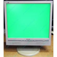 """Б/У монитор 17"""" Philips 170B с колонками и USB-хабом в Брянске, белый (Брянск)"""