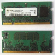 Модуль памяти для ноутбуков 256MB DDR2 SODIMM PC3200 (Брянск)